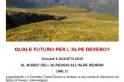 Quale futuro per l'Alpe Devero?